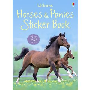 Usborne Horses and Ponies Sticker Book