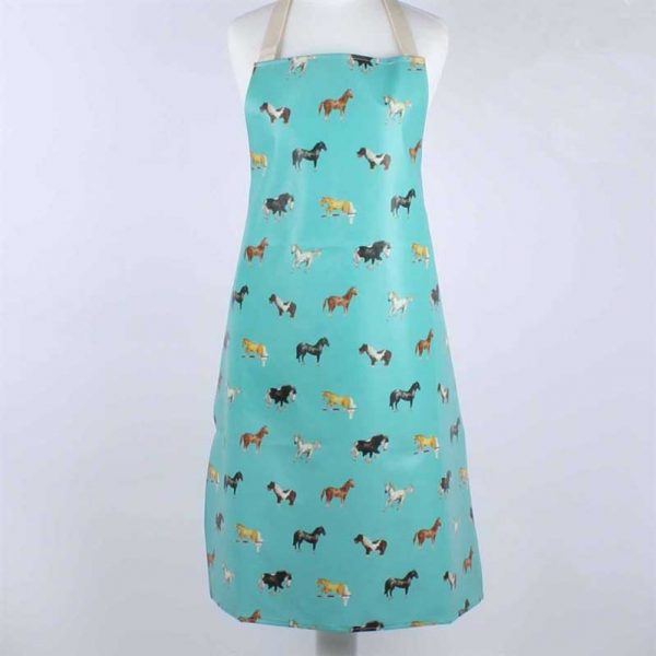 Milly Green Children's Horses Apron - Lifestyle