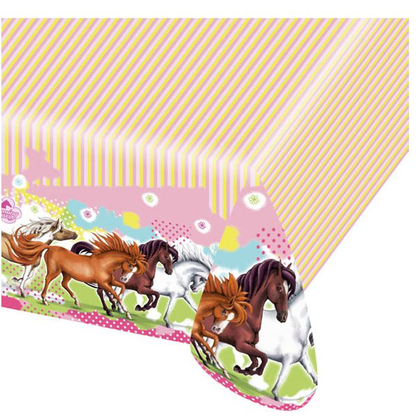 Charming Horses Pony Party Table Cover