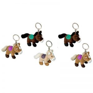Plush Horse Keyring