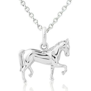 gallop collection dressage horse pendant