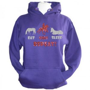 Eat, Ride, Sleep, Repeat Women's Horse Hoodie