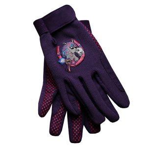Equetech Junior Poneez Children's Riding Gloves