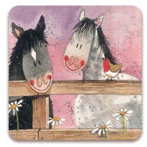 Horse Whispers Fridge Magnet