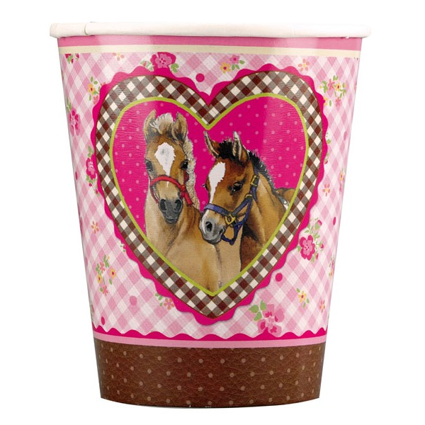 Horse Friends Pony Party Cups