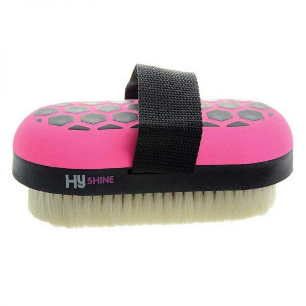 HySHINE Goat Hair Body Brush Pink