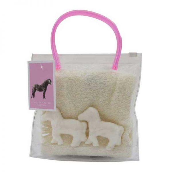 Pony Soap Wash Bag