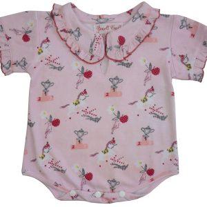 Powell Craft Pony Print Baby Grow