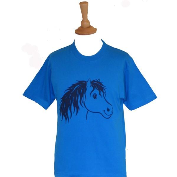 Rocky Children's Horsey T Shirt - Blue