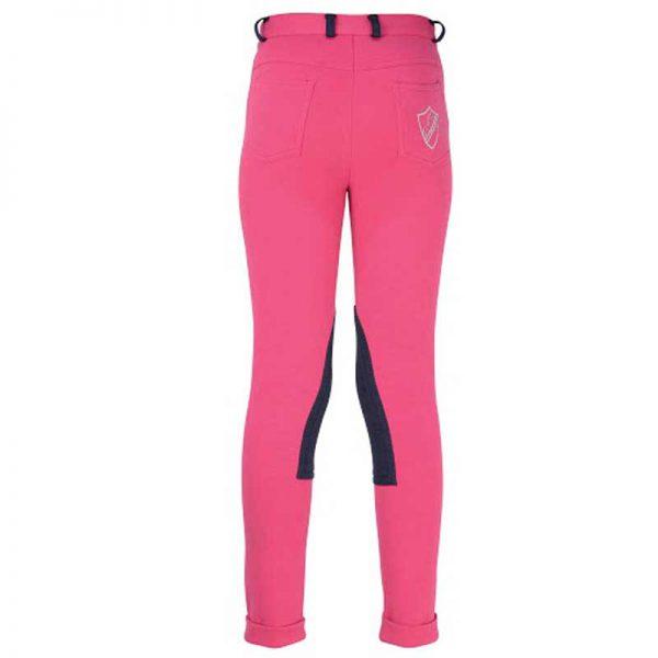 HyPerformance Belton Children's Jodhpurs - Pink back