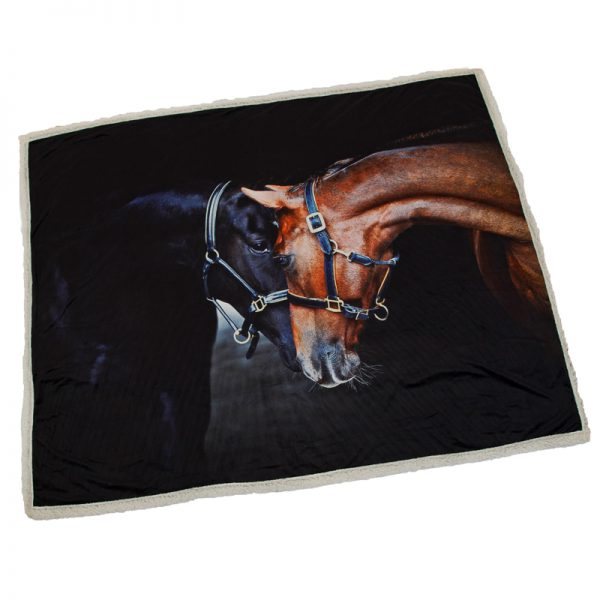 Country Matters Old Friends Horse Throw