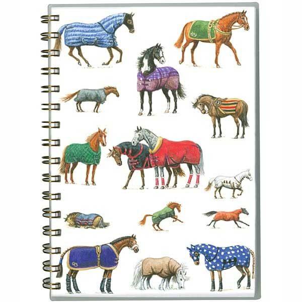 Wiro A5 Horse Notebook - Rugged Up Design