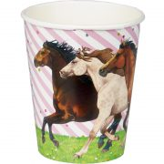 Horse Party Cups- Front