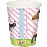 Horse Party Cups- Back