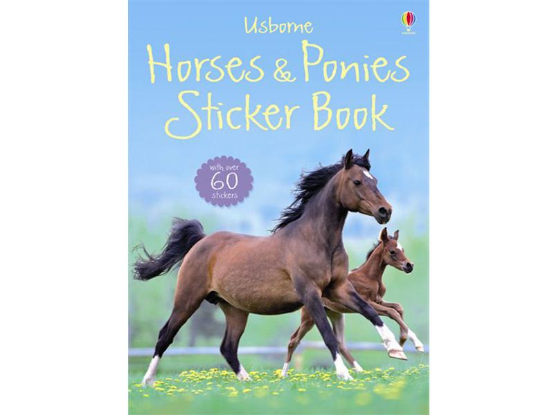 Usborne Horses and Ponies Sticker Book