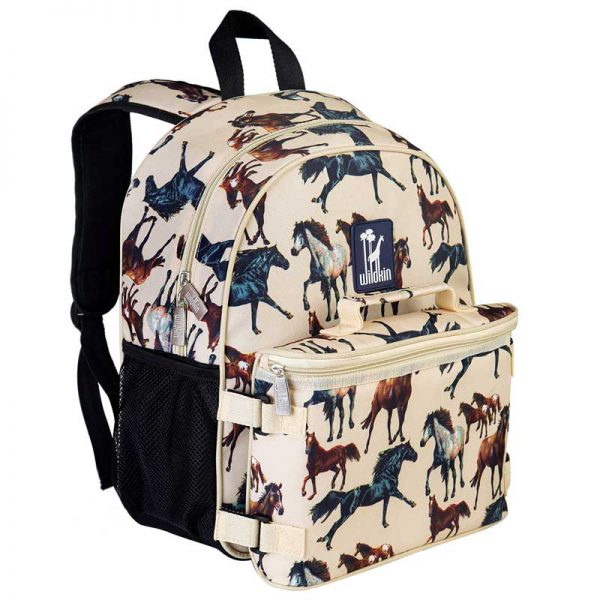 Wildkin Backpack and Lunch Bag - Horse Dreams