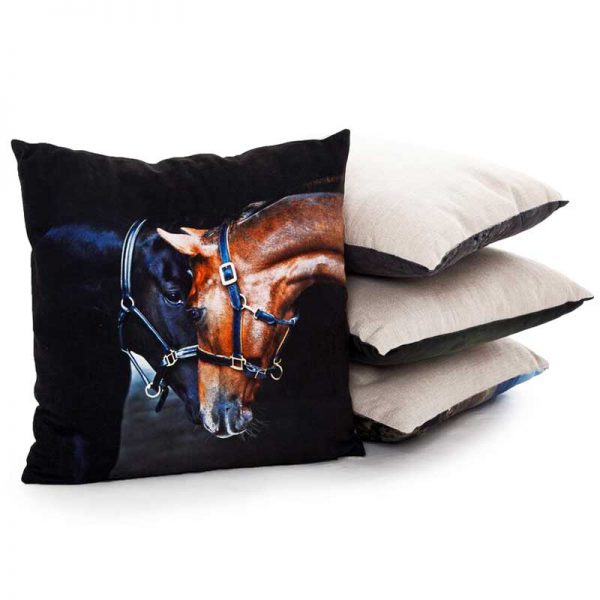 Country Matters Old Friends Horse Cushion