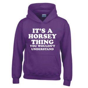 Horsey Thing Hoodie