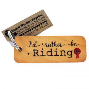 I'd rather be riding keyring