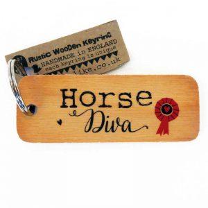 Horse Diva Keyring
