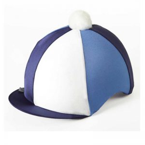 Capz TRI Lycra Hat Cover - Navy/ Blue/ White