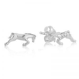 Jumping Horse Stud Earrings