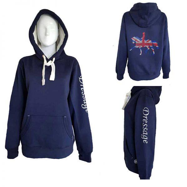 StarOak Designs Navy Dressage Hoodie