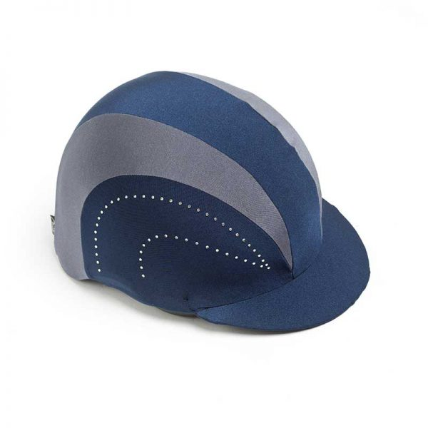 Show Pro Navy Riding Hat Cover