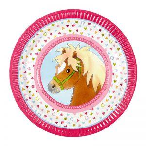 Pretty Pony Party Plates