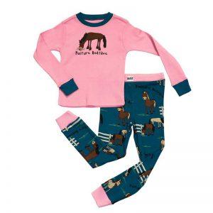 Lazyone Girls Pasture Bedtime Kids Pyjamas