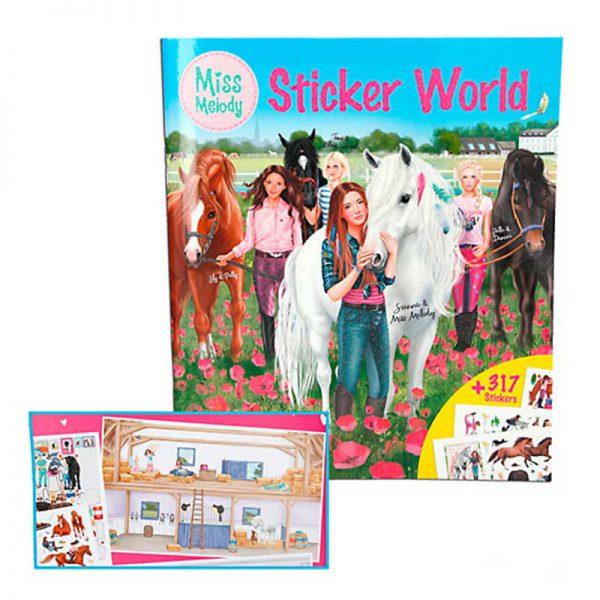 Miss Melody Sticker World
