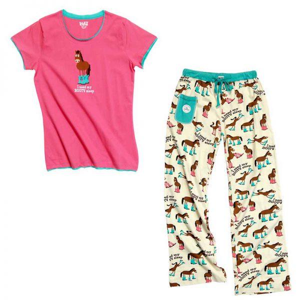 Lazyone Womens Booty Sleep Pyjamas
