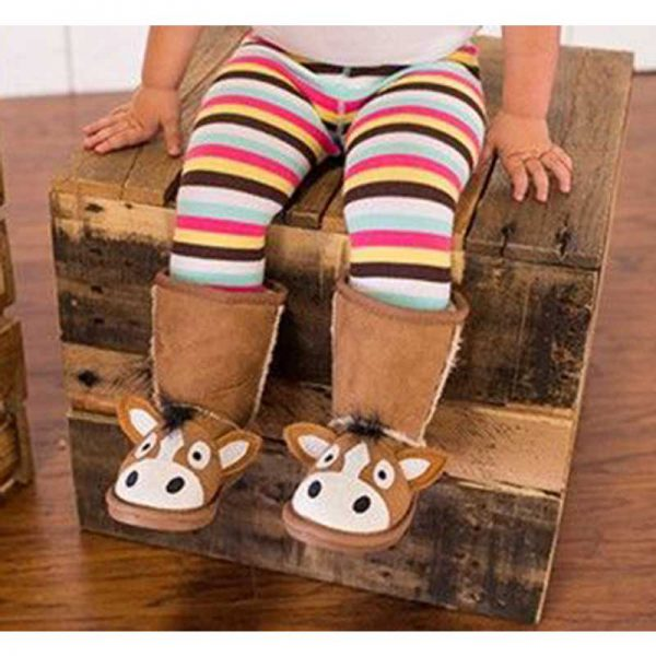 Horse Toasty Toez Children's Slippers Toddler