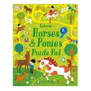 Usborne Horses and Ponies Puzzle Pad