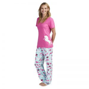 Ponies and Peonies Women's Pyjama Set